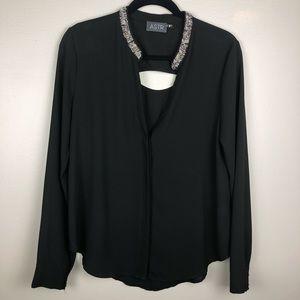 🌵 Astr Black Blouse Size M